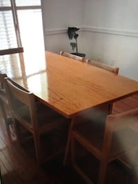 Wooden Table and Chairs Whitchurch-Stouffville, L4A 1P1