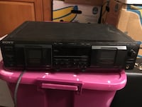 Sony Dual Tapedeck with Pitch Control York, 17401