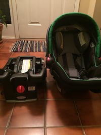 baby's black and green car seat carrier Alexandria, 22310