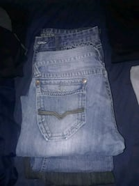 blue True Religion denim bottoms Winnipeg, R3E 1E7