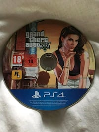 Sony PS4 Grand Theft Auto 5 disc Houston, 77045