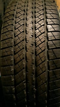 One brand new tire with rim size 265 70 17