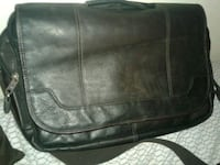 Leather laptop bag Calgary, T2A 5R6
