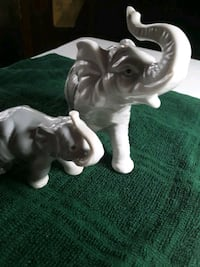 Porcelain Collectable Elephant's