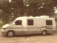 white and black type c motorhome Dallas