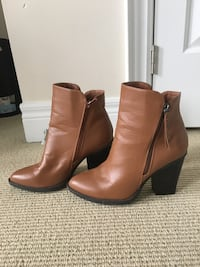 Faux Leather Brown Booties Mississauga, L4X 2S5