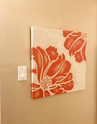 Flower Canvas Wall Art Halifax, B3M 1B4