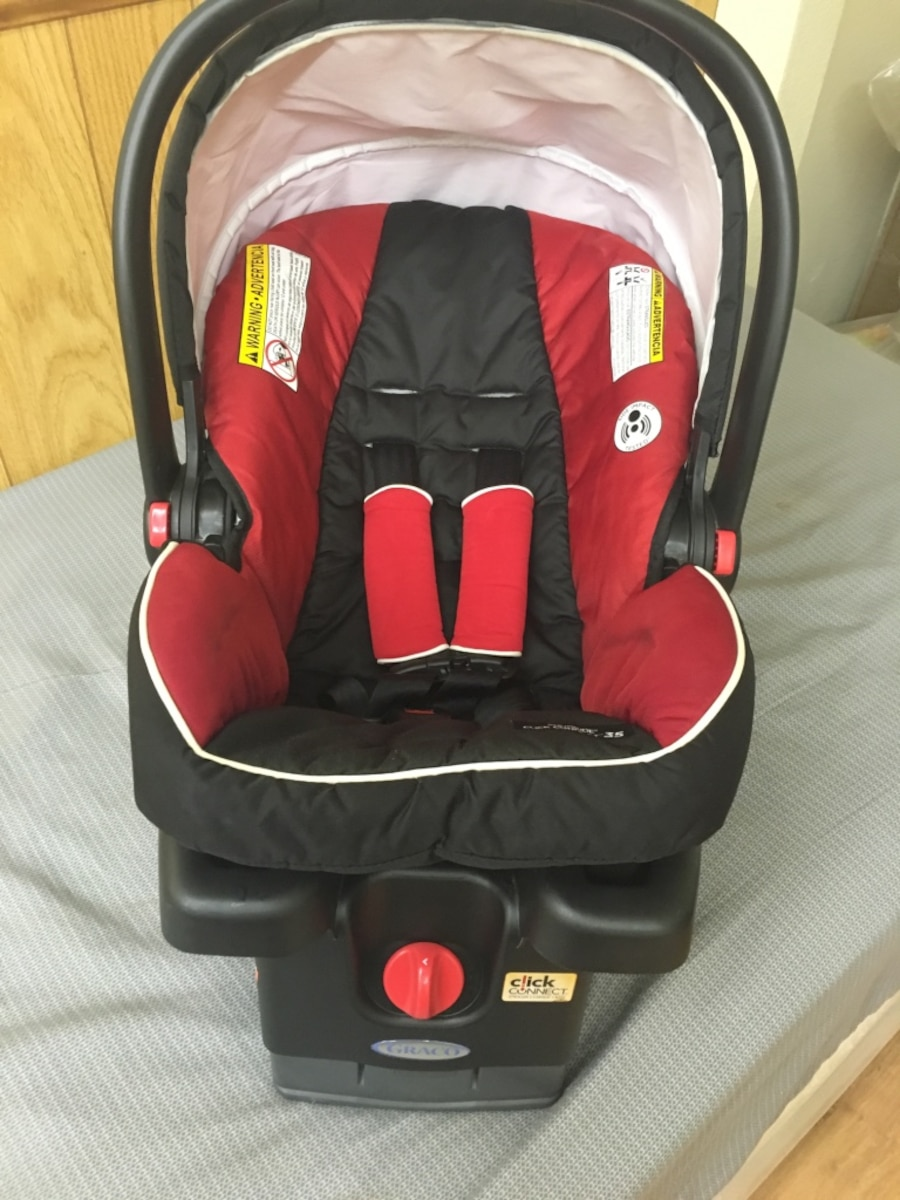 baby 39 s red and black car seat in phoenix letgo. Black Bedroom Furniture Sets. Home Design Ideas