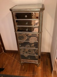 Mirrored 7-drawer lingerie chest or tall dresser New York, 11228