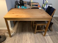 IKEA table and four chairs w/cushions Baltimore, 21236