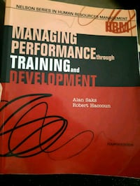 Managing Performance through Training and Developm London, N6K