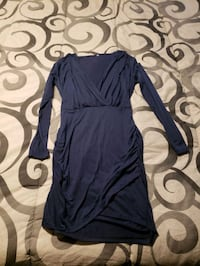 blue dress medium pick up only Edmonton, T5B 1C1