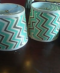 Two brand new lampshades  Rochester