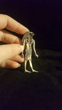 HUGE 925 lucky God of Ra pendant