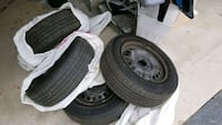 All season tire and rims for sale Richmond Hill, L4S 1S8