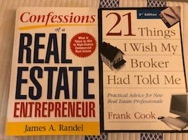 Real Estate books, flash cards and calculator