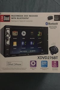 Multimedia dvd receiver with Bluetooth