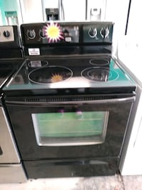 black and gray induction range oven 894 mi