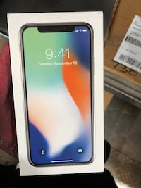 Iphone x , brand new , unlocked , any carrier , 256 gb