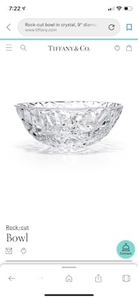 Tiffany & Co  crystal serving bowl Columbia, 21045