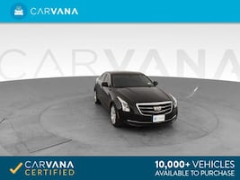 2015 Caddy Cadillac ATS sedan 2.5L Standard Sedan 4D Black