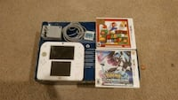 Nintendo 2ds with 3 games and an AC adapter. North Las Vegas, 89032