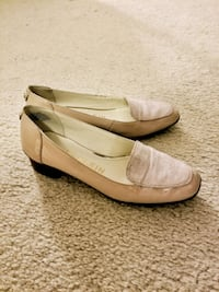 pair of beige leather flats (size 6) McLean, 22102