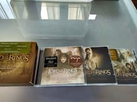 cuatro The Lord of the Rings caja de DVD temporada completa