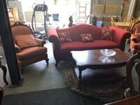 Wine red high quality sofa Santa Clara, 95050