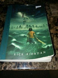 The lightning thief paperback book