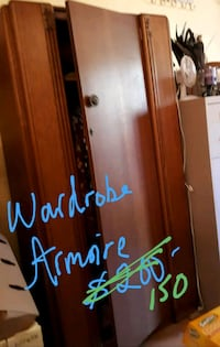 NOW REDUCED - ANTIQUE Armoire