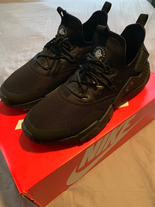 brand new 9bf81 aacba Nike Air Huarache Drift Black