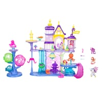 New My Little Pony the Movie Canterlot & Seaquestria Castle with Friends Stanley