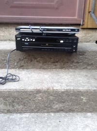 DVD player and a 5 disc automatic disc loading system