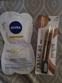 Brand new Nivea Q10 Mask & Covergirl Brow Liner $3 ea or 2 for $5 Toronto, M9N 1T2