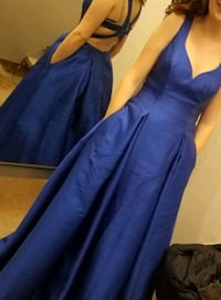 Cobalt Blue Prom Dress