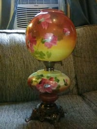 hand-painted Gone With the Wind style oil lamp Niceville, 32578