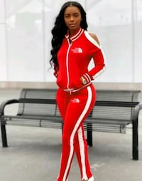Red two piece set outfit Savage, 20763