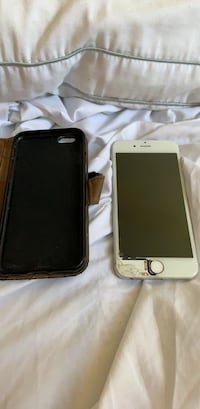 silver iPhone 6 with black case Ansonia, 06401
