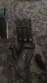 Gently Used Wii 3 remotes 3 remote grips and 2 nunchucks  Ridgewood, 07450