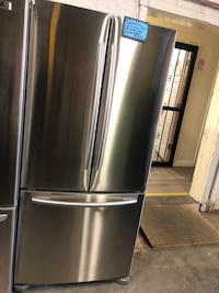 Samsung 32.5 wide stainless steel French doors fridge  Baltimore, 21223