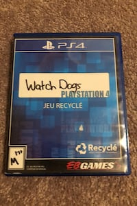 PS4 Watch Dogs 1