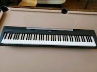 Yamaha P-85 Digital Piano with Stand and Seat Flower Mound, 75022