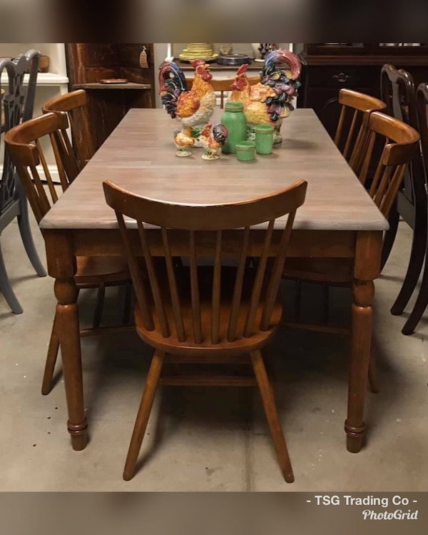 Farmhouse kitchen table set