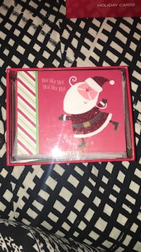 Papyrus Premium Christmas Cards.  Note card size. I have two boxes.  Each $10 Arlington, 22207