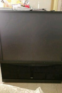black and gray rear projection television Pharr, 78577