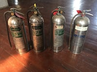Fyr Fyter fire extinguishers- vintage Jersey City, 07302
