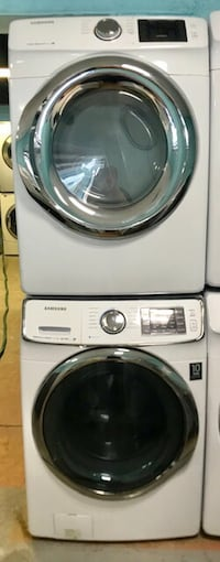 Samsung front load washer and dryer set