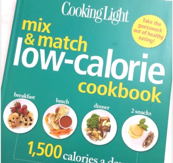 Cooking Light - Mix and Match Low - Calorie Cookbook - Brand New