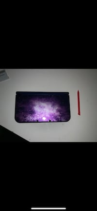 Nintendo 3ds galaxy with stylus and charger